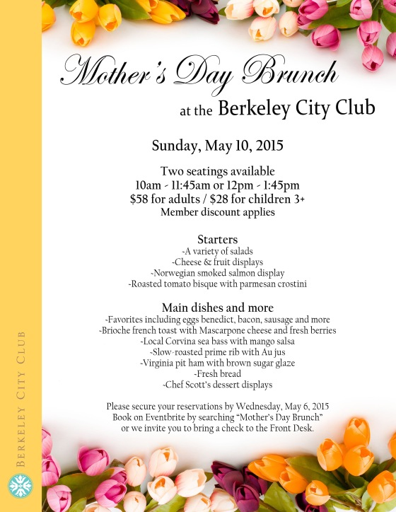 Mothers Day Flyer 2015